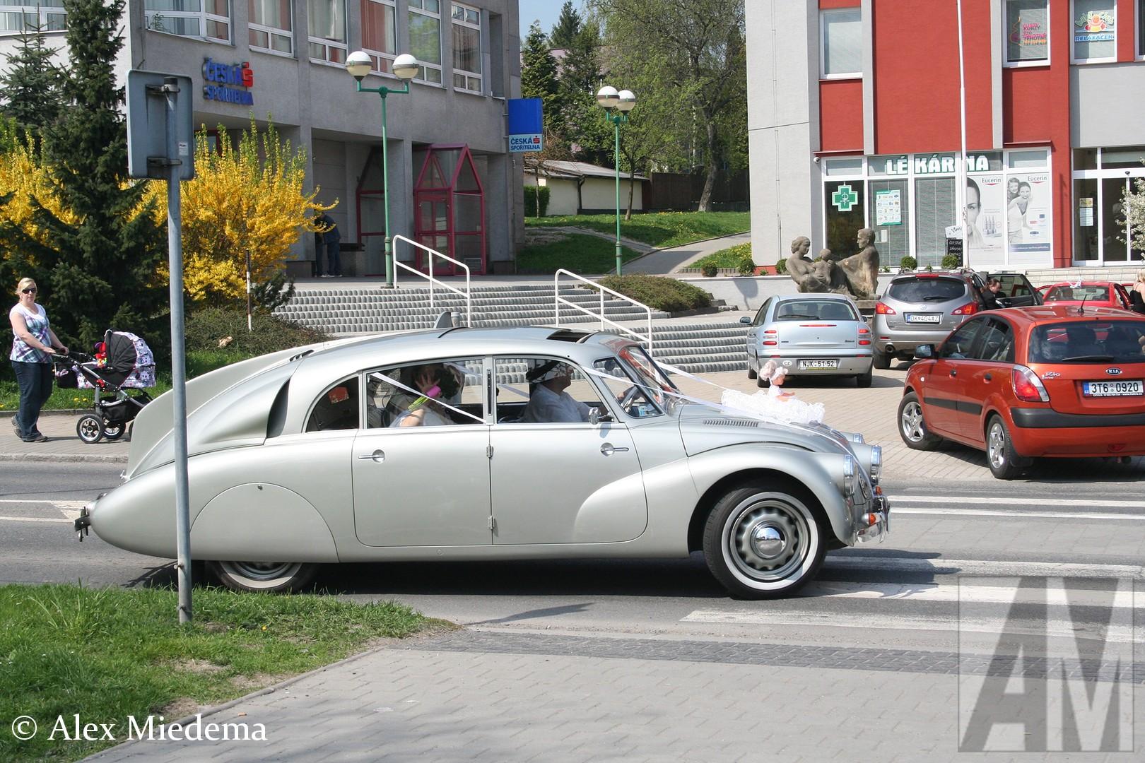 Trouwen in een Tatra