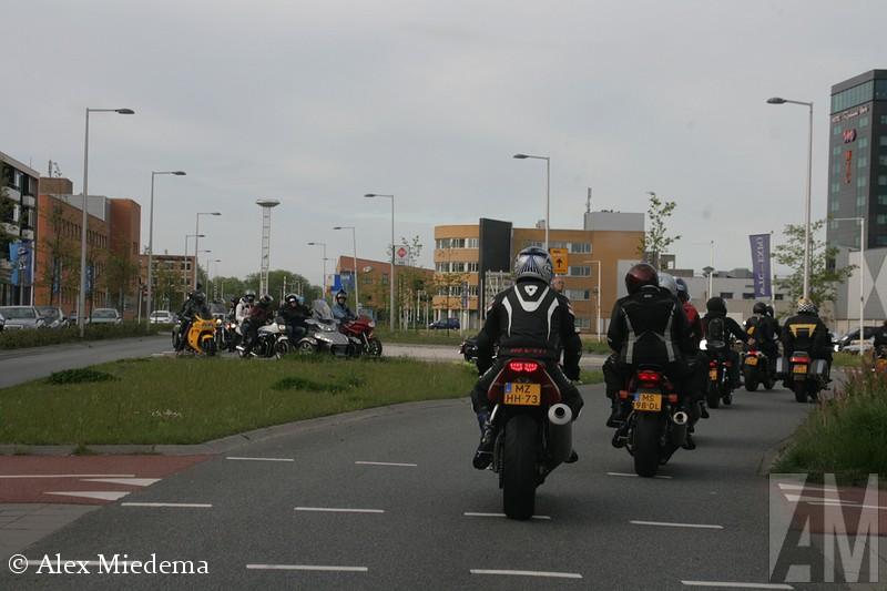 Motor Elfstedentocht 2015