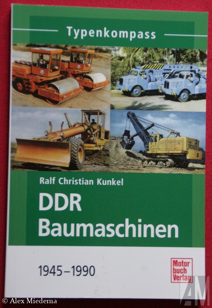 Typenkompass DDR Baumaschinen