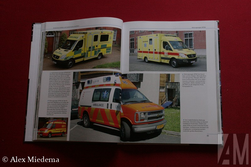 Einsatzfahrzeuge der Sanitäts- und Rettungsdienste