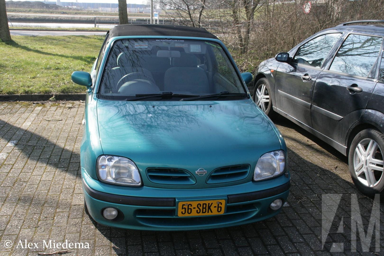 Nissan March cabriolet