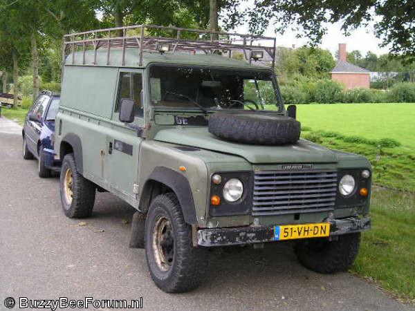 Land Rover 110 Hardtop. Merk en type: Land Rover 110